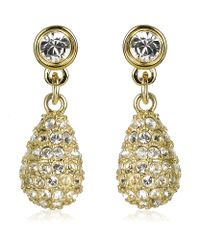 Swarovski | Metallic Heloise Drop Earrings | Lyst