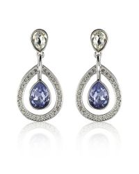 Swarovski - Metallic Mila Provence Earrings - Lyst