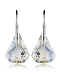 Swarovski | Metallic Lunar Moonlight Pierced Earrings | Lyst