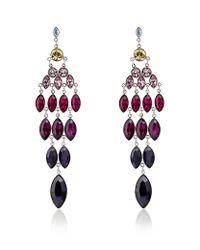 Swarovski | Multicolor Tody Large Pierced Earrings | Lyst