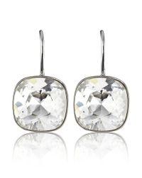 Swarovski | Metallic Sheena Pierced Earrings | Lyst