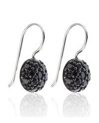 Thomas Sabo | Metallic Crystal Ball Earrings | Lyst