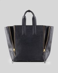3.1 Phillip Lim | Black Pashli Large Zip Tote Bag | Lyst