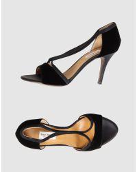 Isaac Mizrahi New York | Black High-heeled Sandals | Lyst
