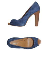 Nana' | Blue Platform Courts | Lyst