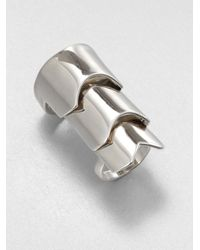 Eddie Borgo | Metallic Hinged Plate Ring | Lyst