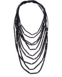 Monies - Black Foc Necklace - Lyst