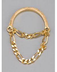 RebekkaRebekka Metallic The Lilly Ring
