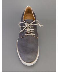 Sartori Gold - Gray Contrast Sole Derby Shoe for Men - Lyst
