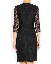 JOSEPH - Black Corine Lace Dress - Lyst