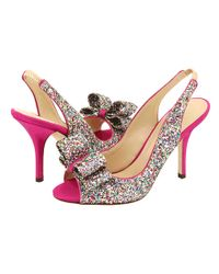 kate spade new york | Multicolor 'charm' Slingback Pump | Lyst