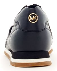 MICHAEL Michael Kors Black Logo cutout Sneaker for men