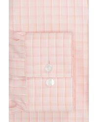 Calvin Klein | Pink Montecarlo Check Slim Fit Dress Shirt for Men | Lyst