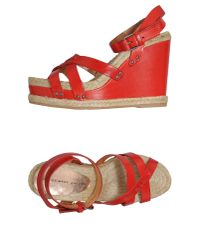 Marc By Marc Jacobs Red Espadrilles