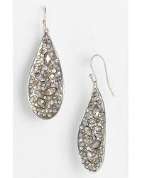 Alexis Bittar | Metallic Miss Havisham Large Teardrop Earrings | Lyst