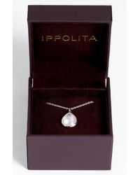 Ippolita | Blue Silver Rock Candy Short Bead & Stone Necklace | Lyst