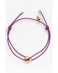Marc By Marc Jacobs   Purple Bolts Friendship Bracelet   Lyst