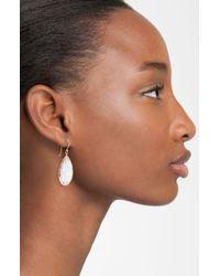 Ippolita | Pink 'rock Candy' Rose Large Teardrop Earrings | Lyst