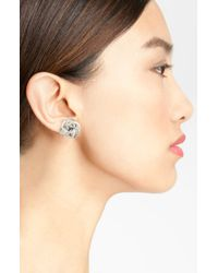 Lagos | Metallic Caviar Stud Earrings Online Exclusive | Lyst