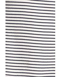 Theory | Blue Teju B Cotton Shift Dress | Lyst