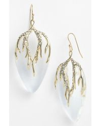 Alexis Bittar | Metallic Ophelia Cascading Vine Drop Earrings | Lyst