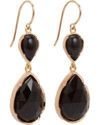 Irene Neuwirth Pink Double-Drop Earrings