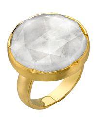 Irene Neuwirth Purple Rainbow Moonstone Ring