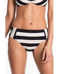 La Blanca | Black Dapper Derby Bikini Bottoms | Lyst