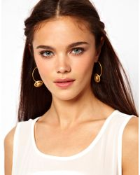 Sam Ubhi - Metallic Door Knocker Earrings - Lyst