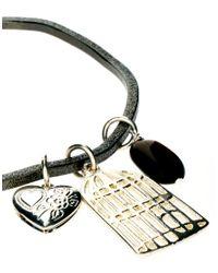 Sam Ubhi - Metallic Bird Cage Charm Bangle - Lyst
