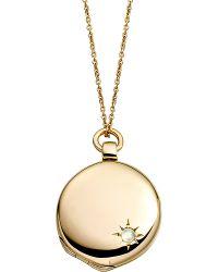 Astley Clarke - Metallic Astley 18ct Gold Locket - Lyst