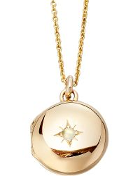 Astley Clarke | Metallic Little Astley 18ct Gold Locket | Lyst