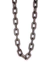 BaubleBar Black Hematite Chain