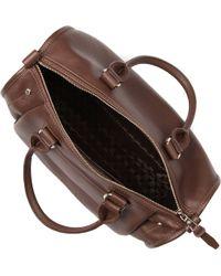 Longchamp Brown Balzane Bowling Bag