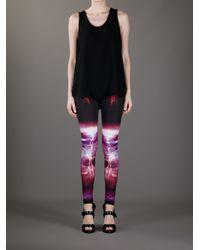 McQ Multicolor Mesh Legging