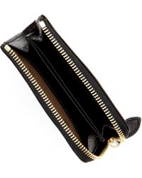 Mulberry Black Slim Leather Coin Purse