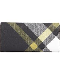 Vivienne Westwood Gray Derby Slim Coated Cotton Wallet