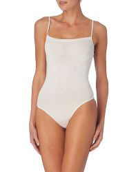 Wolford White Neon String Body