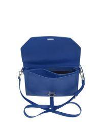 3.1 Phillip Lim - Blue Polly Double Compartment Leather Crossbody - Lyst