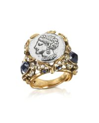 Alcozer & J | Metallic Roman Coin Ring | Lyst