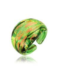 Antica Murrina | Green Laguna Murano Glass Ring | Lyst