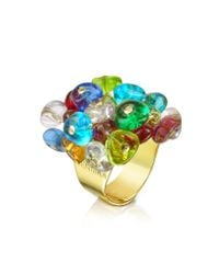 Antica Murrina Multicolor Rubik - Murano Glass Drops Ring