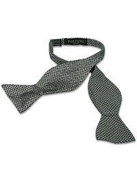 FORZIERI - Gray Printed Silk Self-tie Bowtie for Men - Lyst