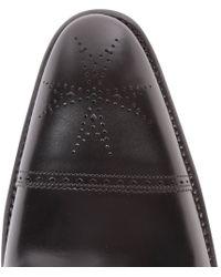 Jeffery West Black Balmoral Boots for men
