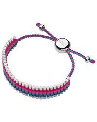 Links of London Pink Adjustable Cord Friendship Bracelet