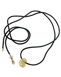Orlando Orlandini - Metallic Arianna - 18k Gold Heart Pendant W/diamond - Lyst