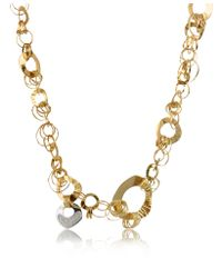 Orlando Orlandini - Pink Fashion - Diamond 18k Rose Gold Chain Necklace - Lyst