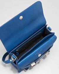 Proenza Schouler Blue Ps11 Classic Crossbody Bag Peacock