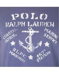 Ralph Lauren Blue Marine Service Tshirt for men