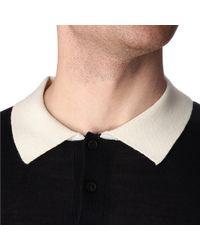 Sandro Blue Riviera Polo Shirt for men